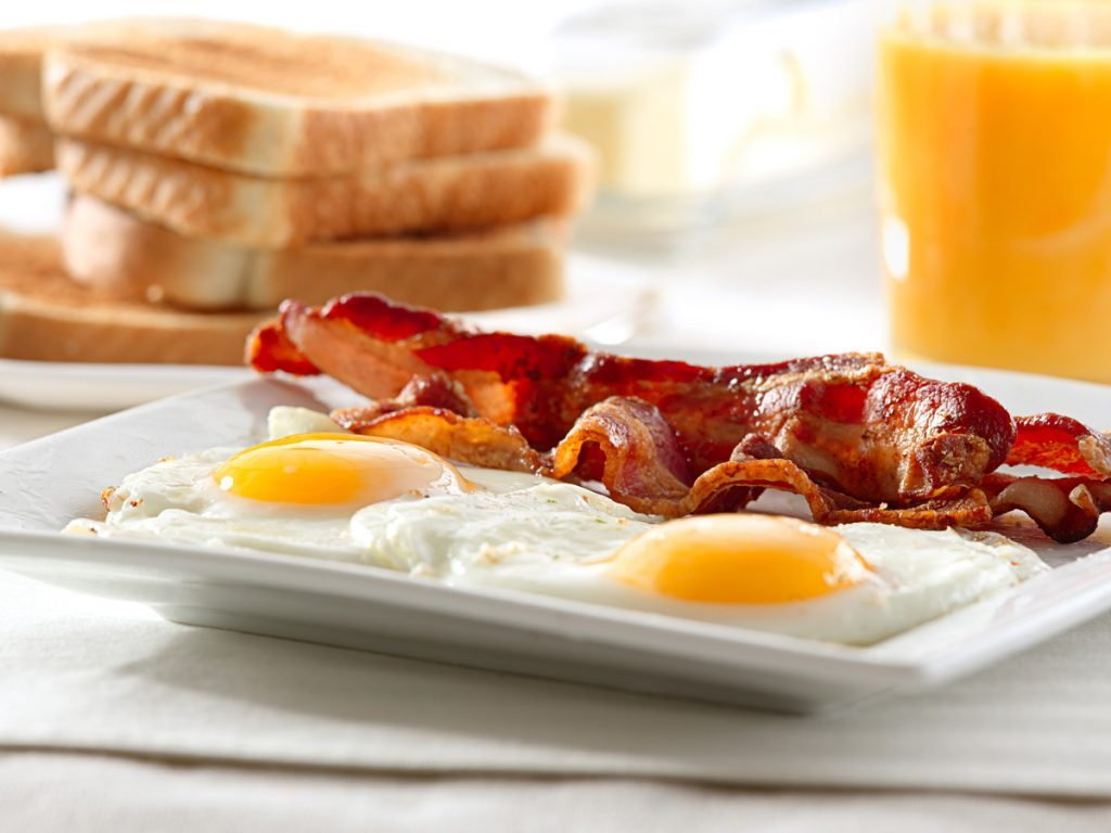 worst fast food breakfast bacon eggs