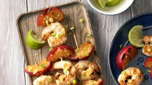 Throw These Shrimp Skewers on the Grill for an Easy Potluck Dish