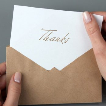 8 Times You Should Send a Thank-You Letter