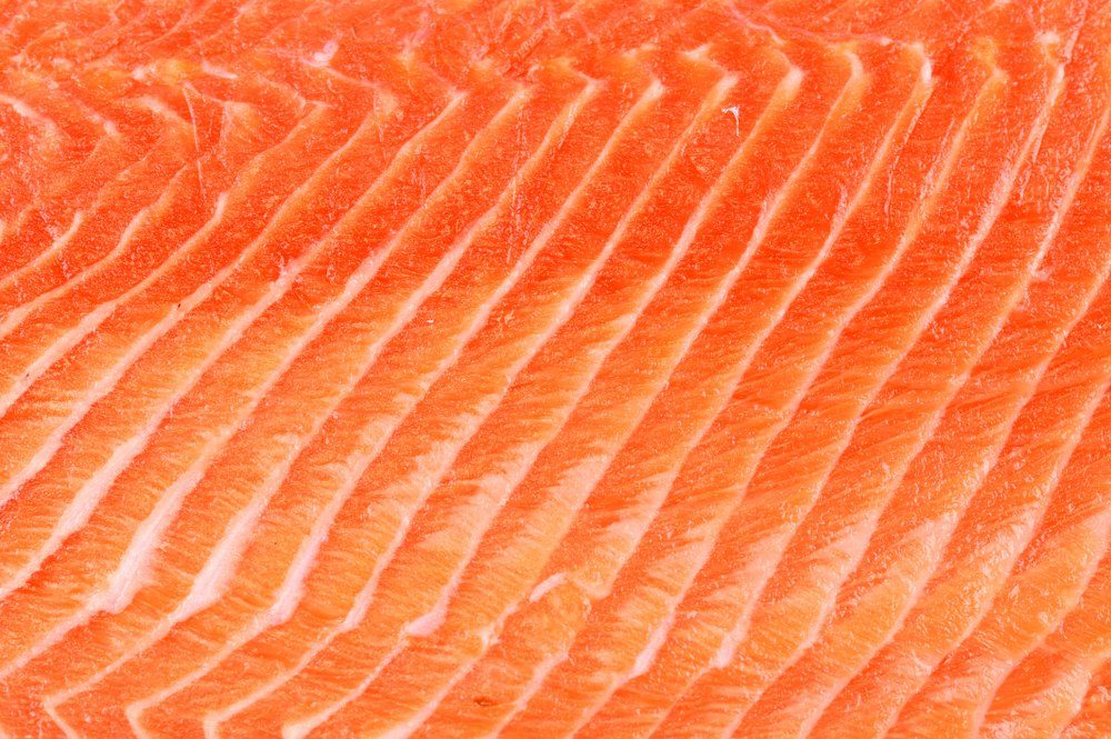salmon fillet background