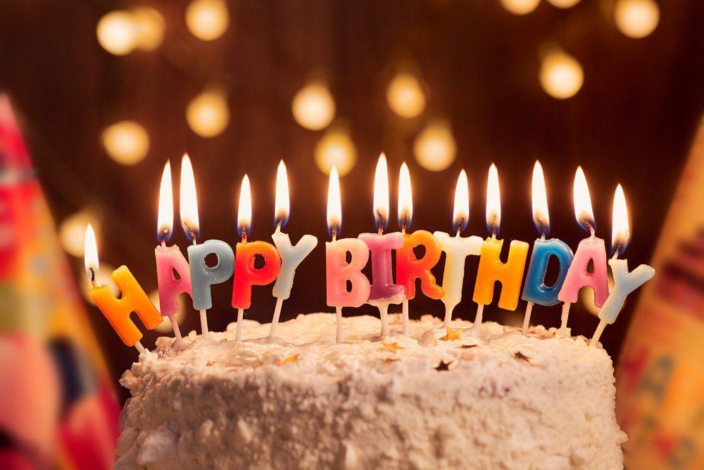 Делаем открытку, видео открытка с днем рождения с тортом