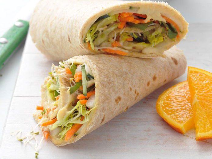 veggie wrap