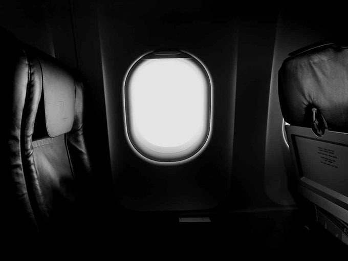 how to clean your plane seat