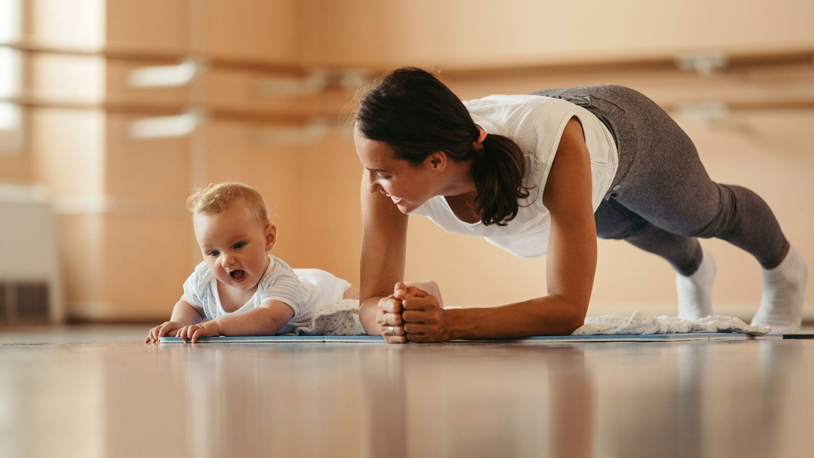 postpartum exercise  how soon you can exercise after