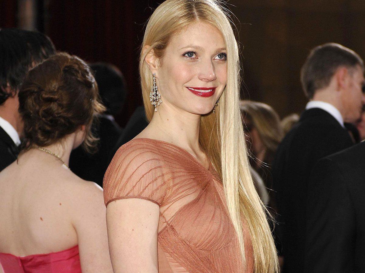 gwyneth paltrow long hair