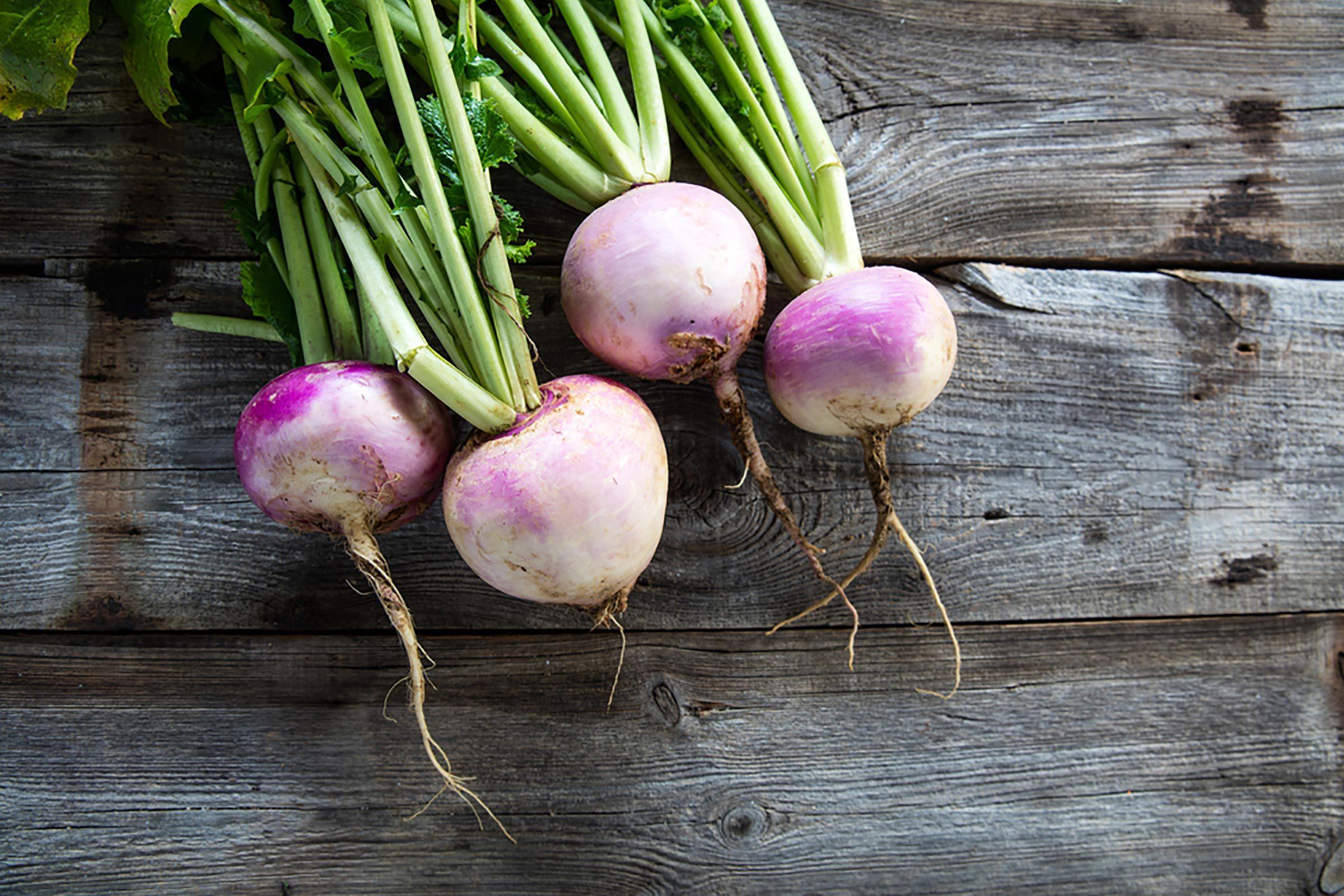 roasted turnips
