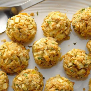 Swap Traditional Stuffing for These Vegetarian Stuffing Balls this Thanksgiving
