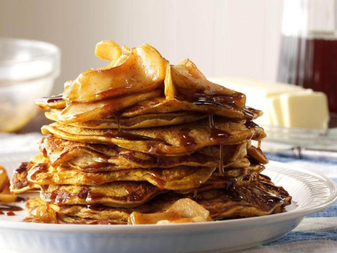 pumpkin pancakes   pancake recipes