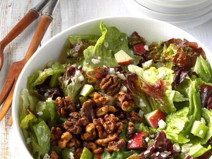 Apple Feta Tossed Salad Best Health Magazine Canada