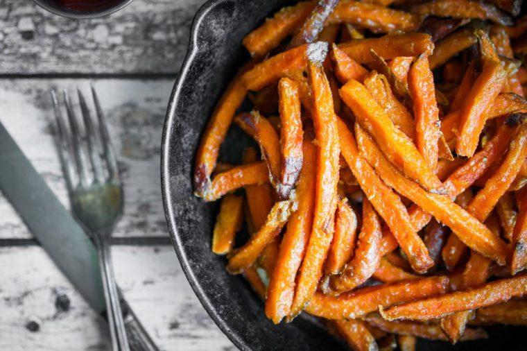 yams fries