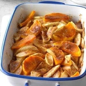 Sweeten Up Thanksgiving With Butternut Squash & Apple Bake