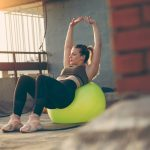 A Full-Body Workout That Solely Uses a Stability Ball