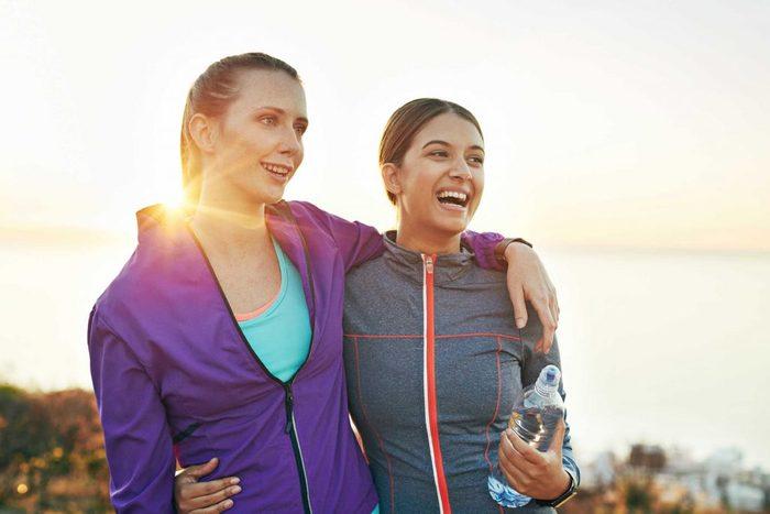 female friend fitness