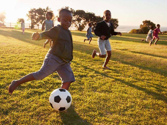 ADHD - kid playing soccer