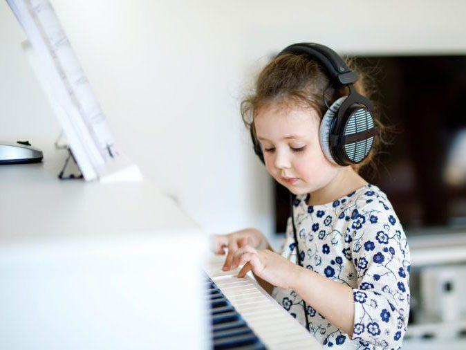 ADHD - kid playing piano