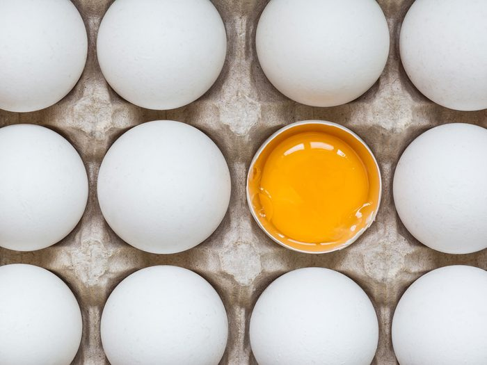 Atkins diet - eggs