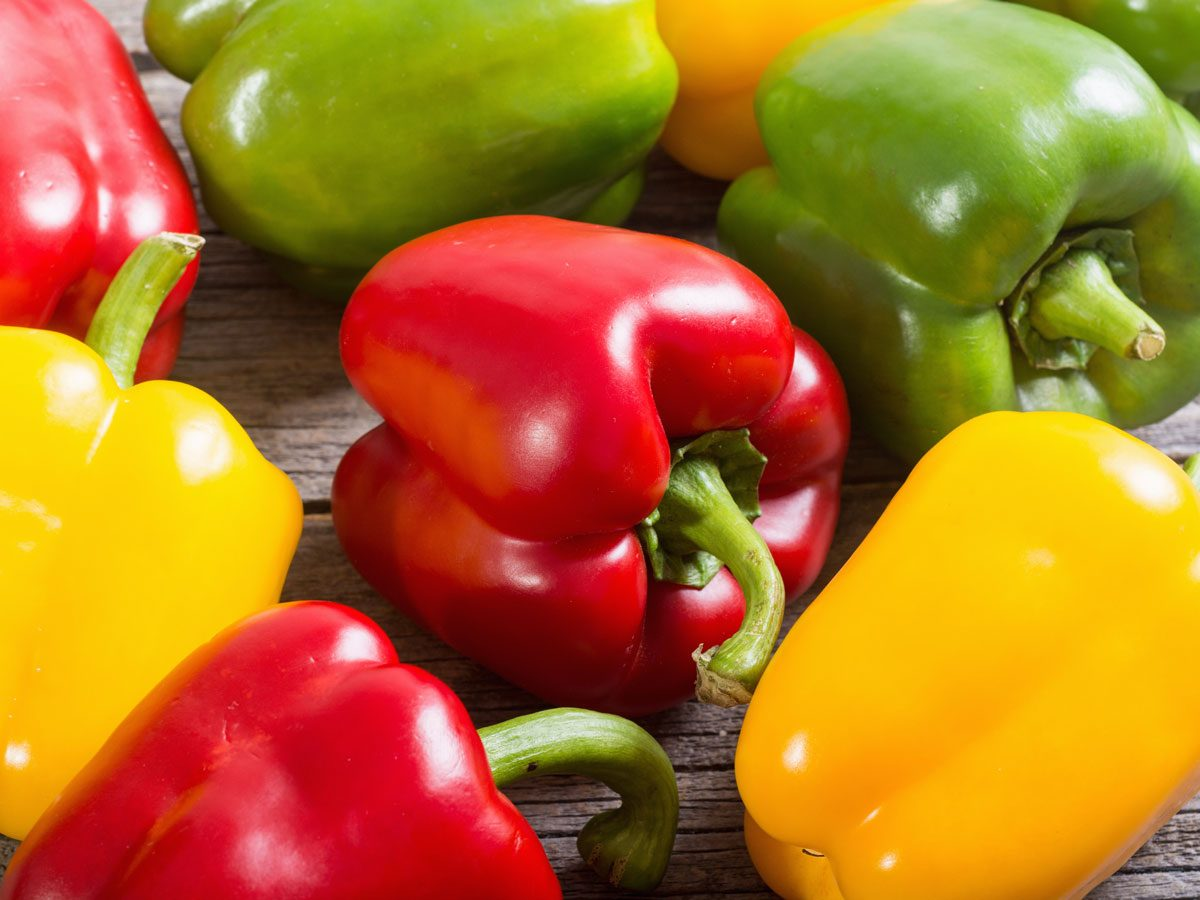 Atkins diet - peppers