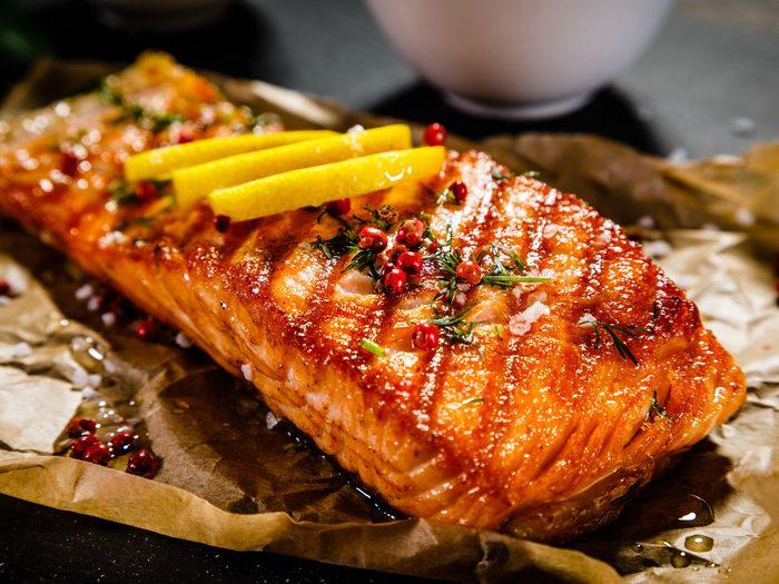 Atkins diet - salmon