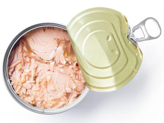 Atkins diet - tuna