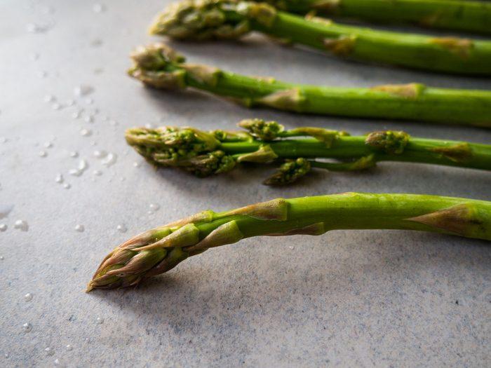 Atkins diet - asparagus