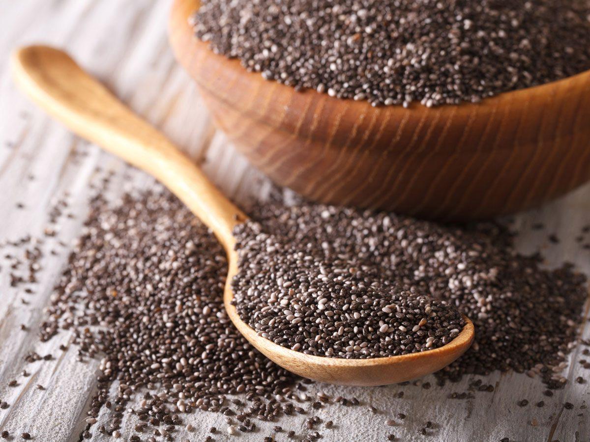 Atkins diet - chia seeds