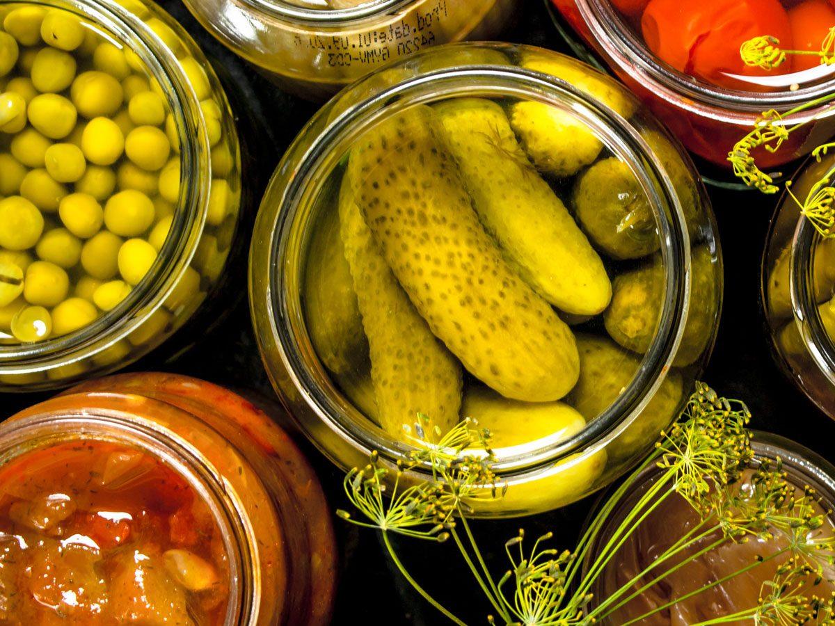 Atkins diet - pickles
