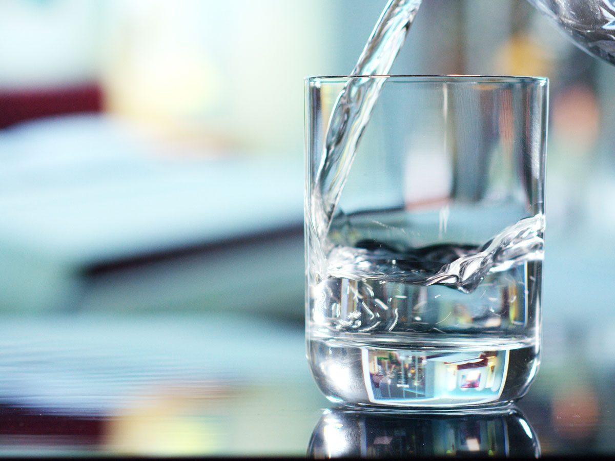 natural appetite suppressants - water