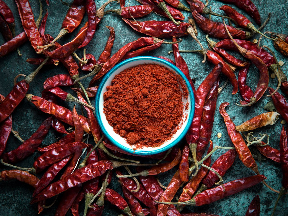 natural appetite suppressants - cayenne peppers