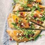 Elevate Pizza Night: Persimmon Tahini Flatbread Recipe
