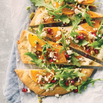 Elevate Pizza Night: Persimmon Tahini Flatbread Recipe