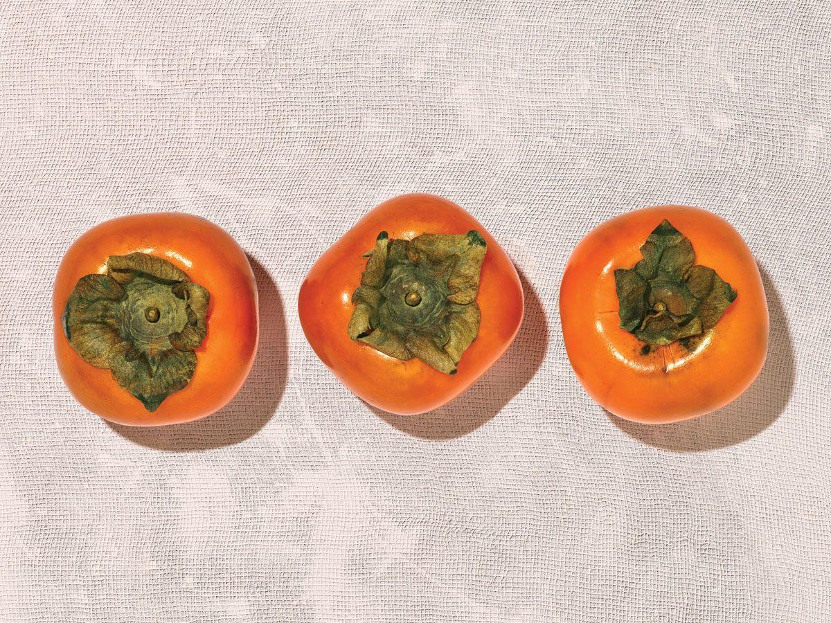 persimmons - fruit