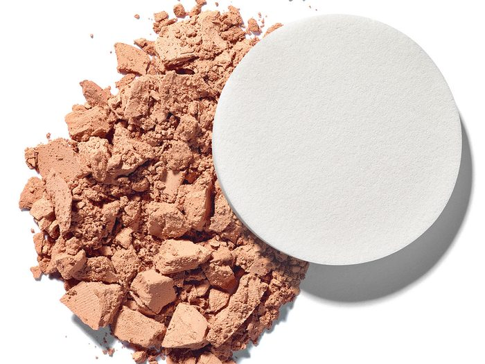 beauty tips when sick face powder