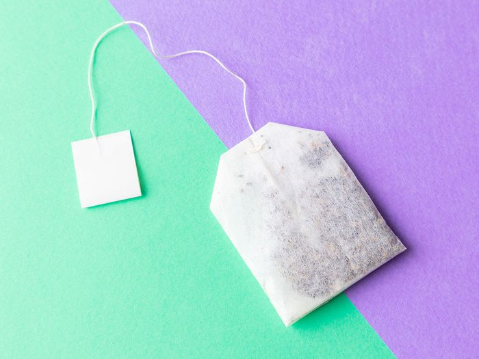 beauty tips when sick tea bags for puffy eyes