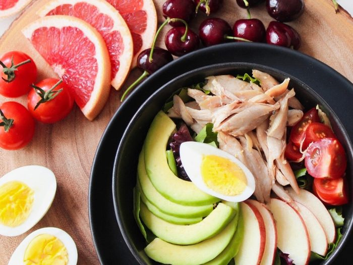 healthy protein bowl