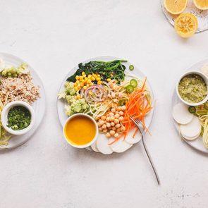 vegan Buddha bowls