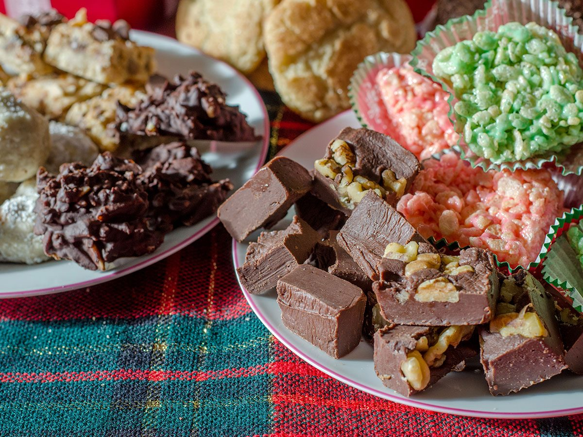 holiday eating binge snacks