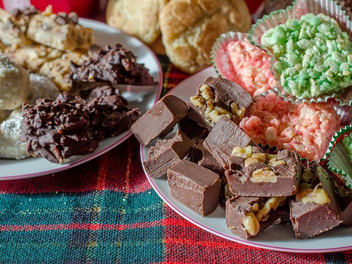 holiday eating binge snacks