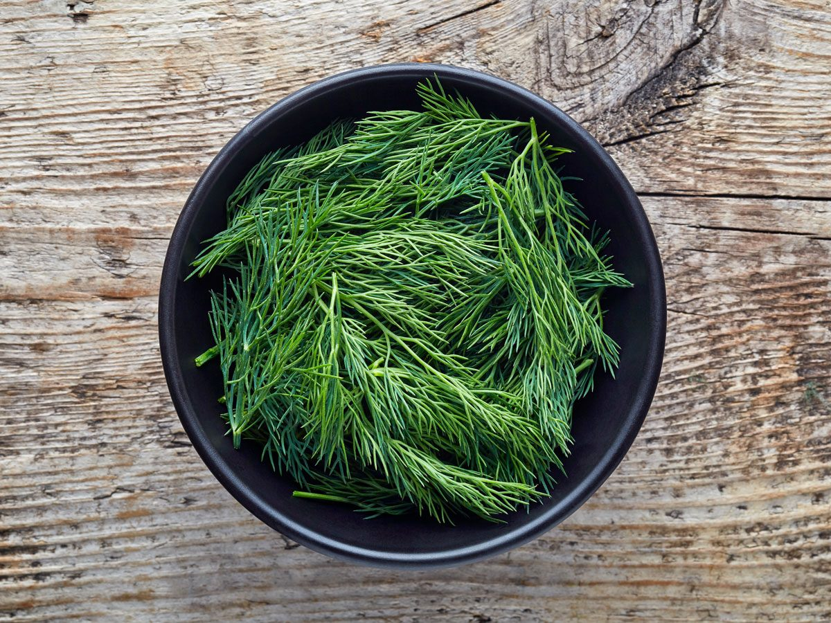 home remedies for yeast infections - dill