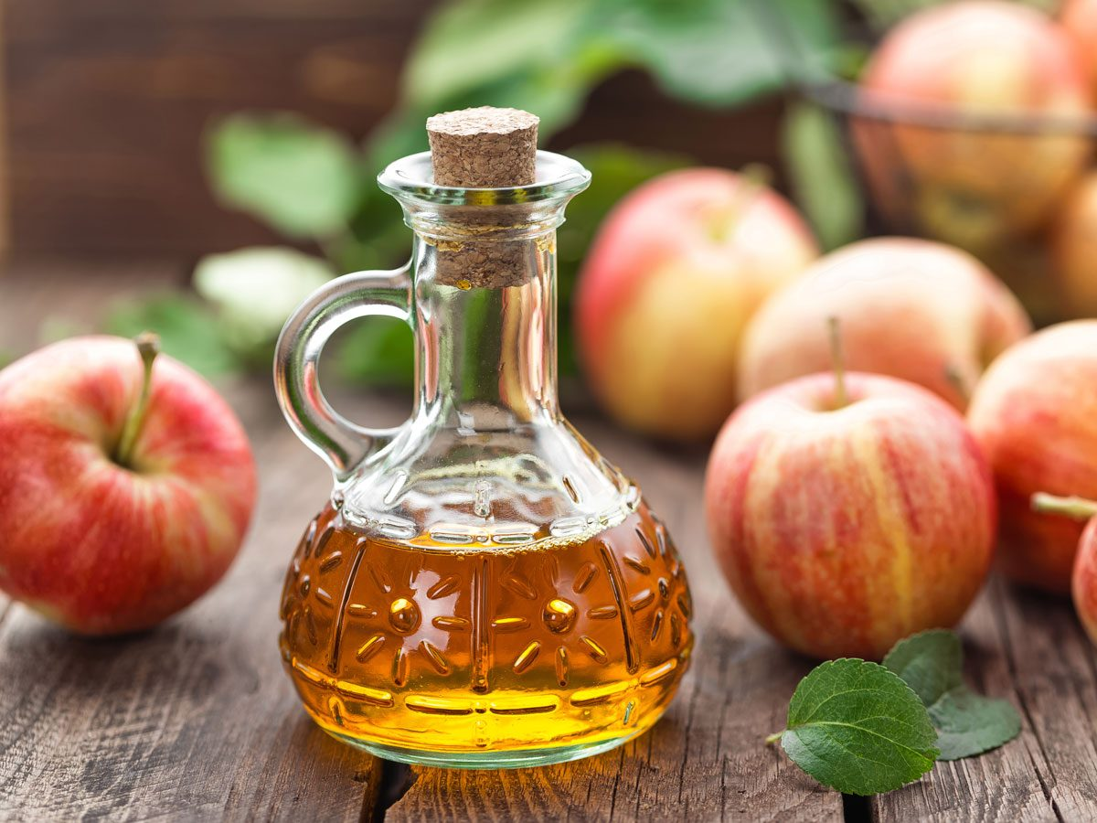 home remedies for yeast infections - apple cider vinegar