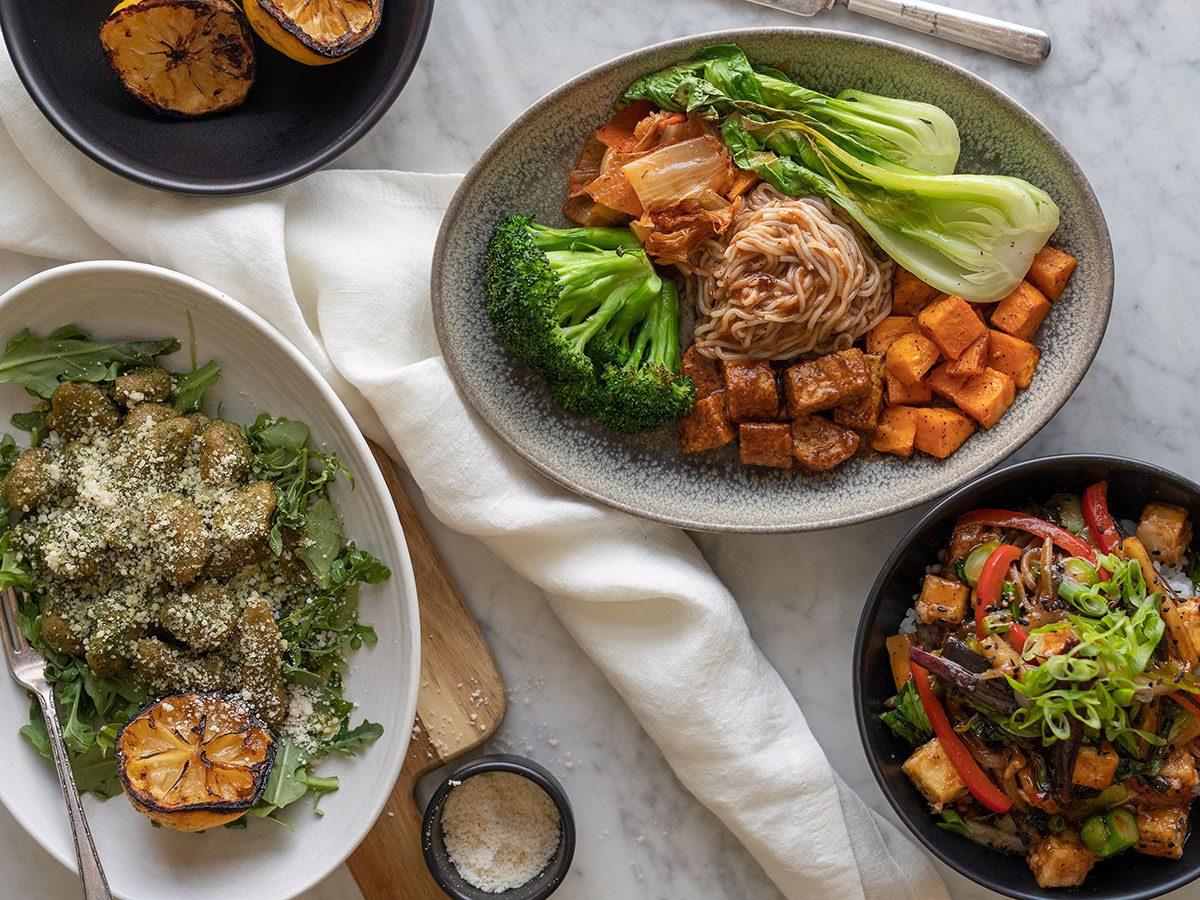plant-based food at lov in toronto