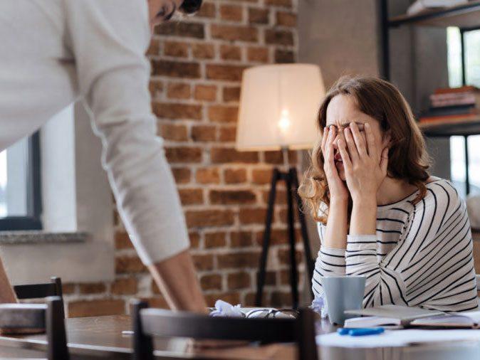 men domestic violence - yelling