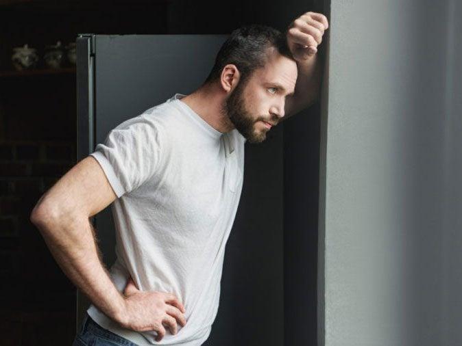 men domestic violence - man thinking