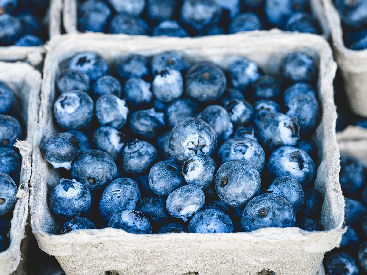 colourful foods | blueberries