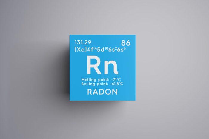 radon lung cancer