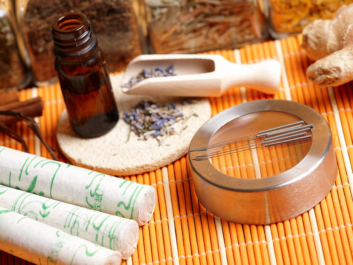 traditional chiene medicine acupuncture tools