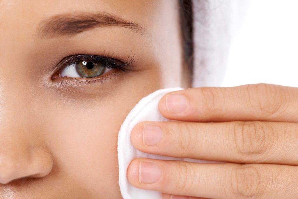 worst skin care advice sleep with makeup on