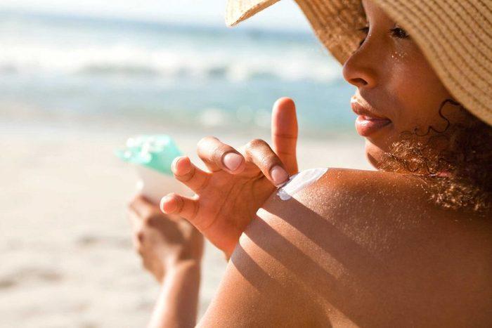 worst skin care advice sunscreen
