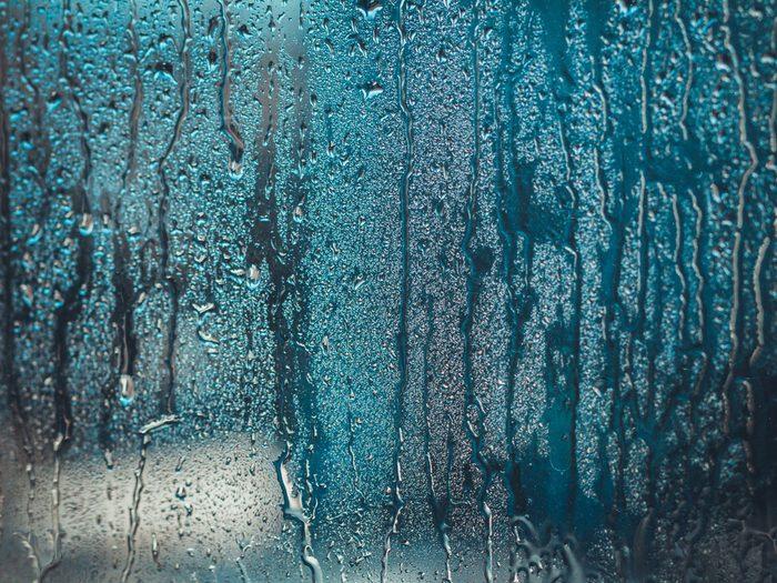 Alzheimer's Disease - rain on window
