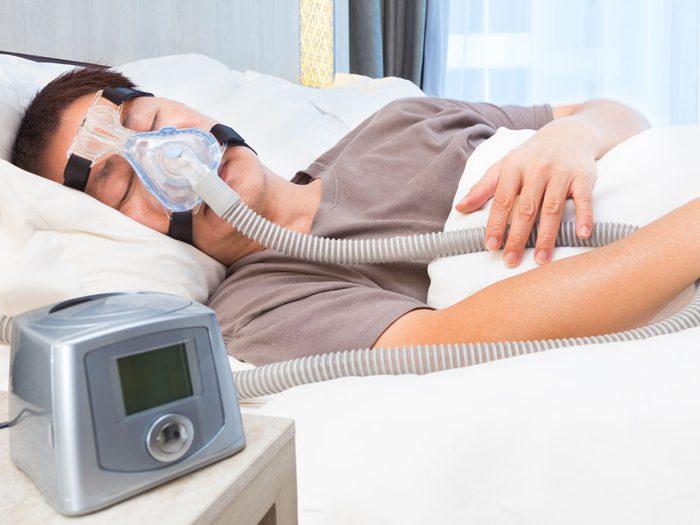 Alzheimer's Disease - sleep apnea