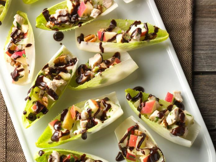 new years eve party recipes endive boats